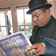 Tito Jackson searching for property in North Devon