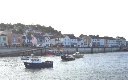 Appledore Quay ...and space to park!!!